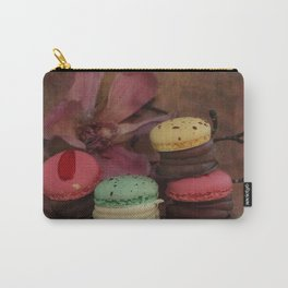 Shabby French chic - Macaroons and Magnolia  Carry-All Pouch