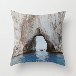 capri, italy ii Throw Pillow