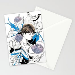 BTS Jin Stationery Cards