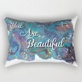 You are beautiful colorful design Rectangular Pillow