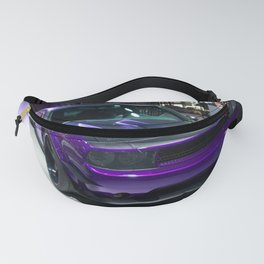 Purple Challenger Hellcat Demon color photograph / photography / poster Fanny Pack