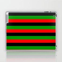 afro american flag stripes Laptop & iPad Skin