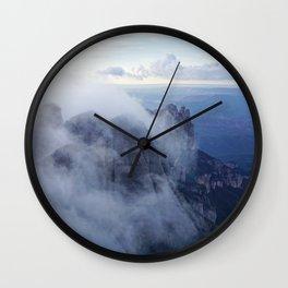 Montserrat Mountain Wall Clock