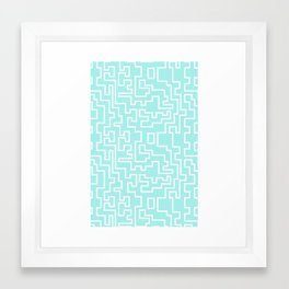 connect Framed Art Print
