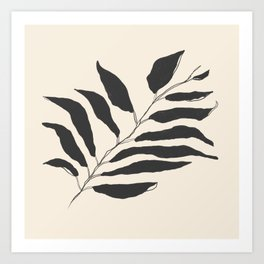 breezy palm Art Print