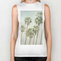 palm trees Biker Tanks featuring Palm Trees by Pure Nature Photos