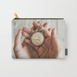 time in your hands Carry-All Pouch