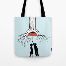 Raining Roots Tote Bag