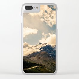 Athabasca Glacier Clear iPhone Case
