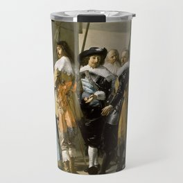 "Franz Hals ""Militia Company of District XI also known as 'The Meagre Company'"" Travel Mug"