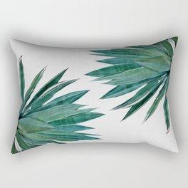 Agave Cactus Rectangular Pillow