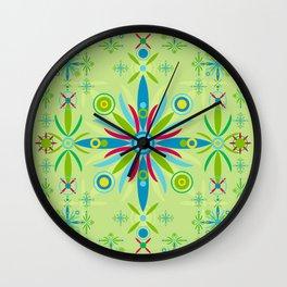 Sicilian Mandala Wall Clock