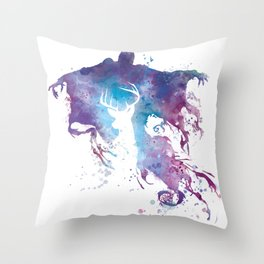 Dementor Throw Pillow