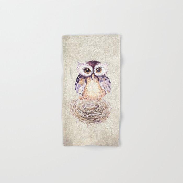 Owl 3 Hand & Bath Towel