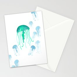 Waterolor Jellys Stationery Cards