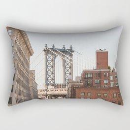 Dumbo Brooklyn Rectangular Pillow