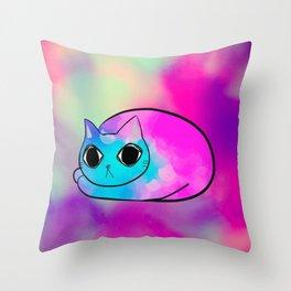 cat 588 Throw Pillow