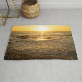 Sunset La Jolla by Reay of Light Rug