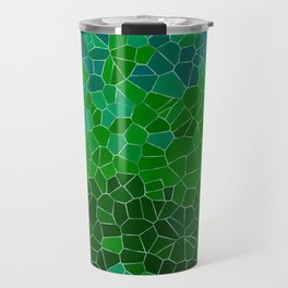 Mosaic Forest Travel Mug