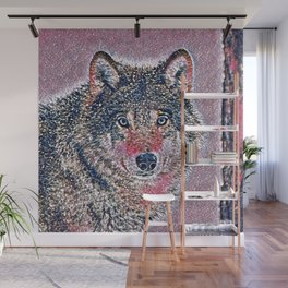 GlitzyAnimal_Wolf_002_by_JAMColors Wall Mural