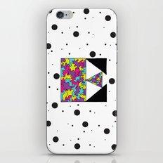 Letter E iPhone & iPod Skin