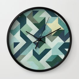 Circle Geometry Wall Clock