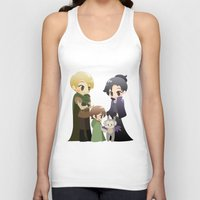 ouat Tank Tops featuring OUAT - Outlaw Queen by Choco-Minto