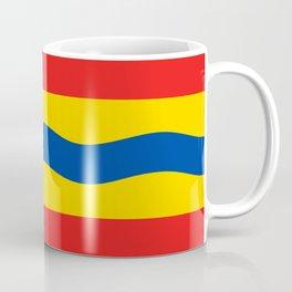 Overijssel region flag Netherlands province Coffee Mug