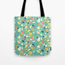 Eat your fruit and vegetables Tote Bag