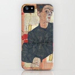 Persian mix: Egon Schiele iPhone Case