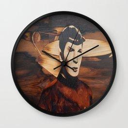 Leonard Nimoy alias Mr. Spock Wall Clock