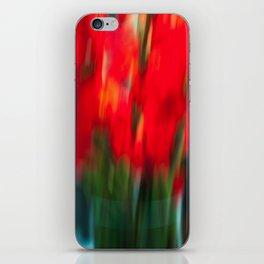 Red Gladiola iPhone Skin