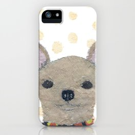 Chihuahua, Dog, Tan Chihuahua iPhone Case