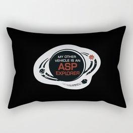 MY OTHER VEHICLE IS AN ASP Rectangular Pillow