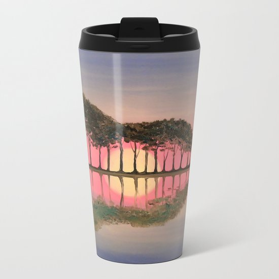 Guitar Metal Travel Mug
