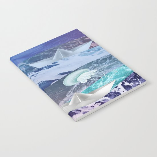 Stormy sea Notebook