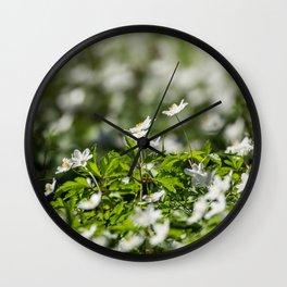 Flowers to Mum Wall Clock