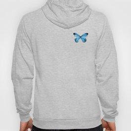 Mariposa Azul  Hoody