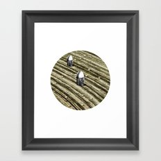 TERRITORIO VISUAL Framed Art Print