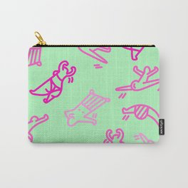 Dance In Your (Green) Pants Carry-All Pouch