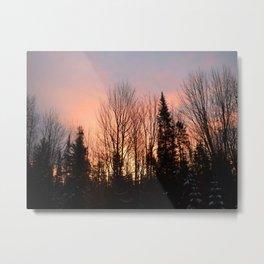 Photo 40 sunset Metal Print