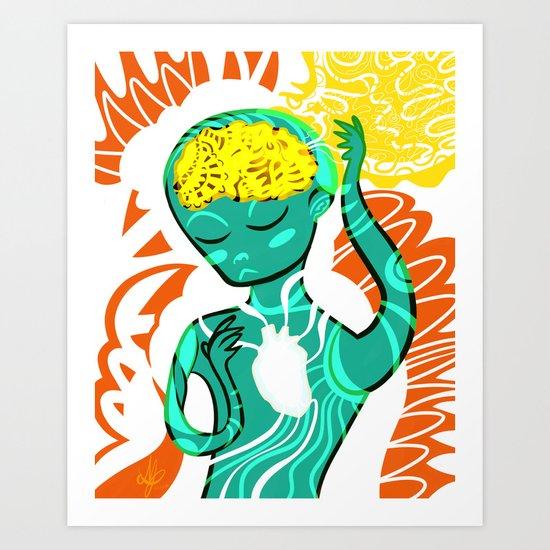 Vacant Art Print