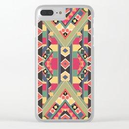 B / O / L / D Clear iPhone Case