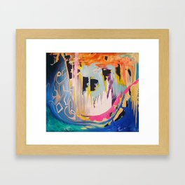 Be The Fish Framed Art Print