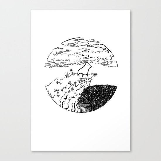 The Chosen One Canvas Print