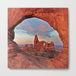 Arches National Park - Turret Arch Metal Print