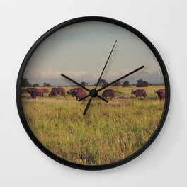 Vintage Africa 13 Wall Clock
