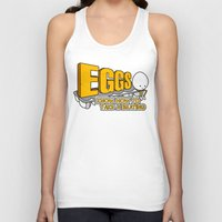 eggs Tank Tops featuring Eggs! by Boots