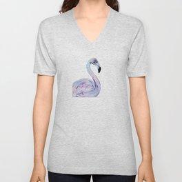 Flamingo 2 Unisex V-Neck
