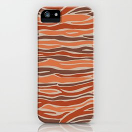 Orange desert iPhone Case